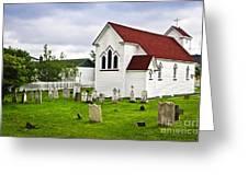 St. Luke's Church In Placentia Newfoundland Greeting Card by Elena Elisseeva