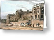 St Luke's Hospital For Lunatics, London Greeting Card
