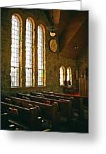 St Malo Church Greeting Card