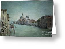 St Maria Della Salute Greeting Card