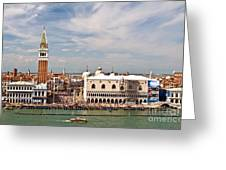 St. Marks Square Venice Greeting Card