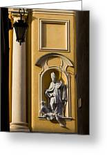 St Martin's Church Architectural Details Greeting Card