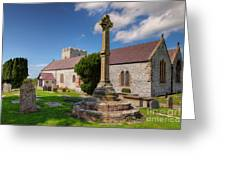 St Mary 1080 Greeting Card