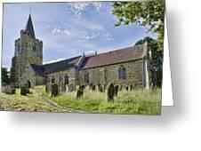 St Mary Lamberhurst Greeting Card