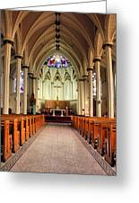 St. Mary's Basilica Halifax Greeting Card by Kristin Elmquist