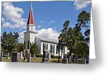 St Marys Catholic Church Dhfx001 Greeting Card