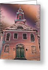 St. Mary's Episcopal Church In Pastel Greeting Card