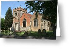 St Marys Harefield Greeting Card