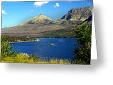 St. Mary's Lake 1 Greeting Card