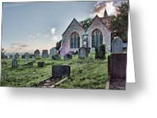 St Michael's East Peckham Greeting Card