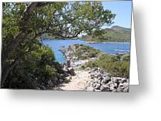 St Nicholas Island Greeting Card