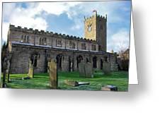 St Oswald's Church - Askrigg Greeting Card