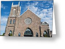 St. Patrick Church Greeting Card