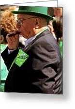 St Pattys Green Greeting Card