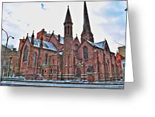St. Paul S Episcopal Cathedral Greeting Card