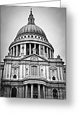 St. Paul's Cathedral In London Greeting Card