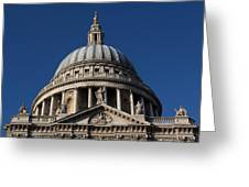St Pauls Cathedral London Greeting Card