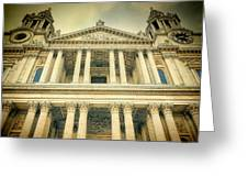 St Pauls Standing Greeting Card