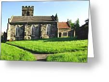 St Peter's Church - Hartshorne Greeting Card