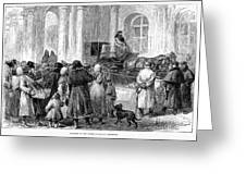 St. Petersburg, 1881 Greeting Card