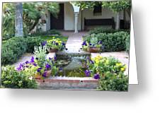 St. Philip's Garden Greeting Card