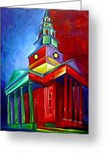 St. Phillips Church Greeting Card