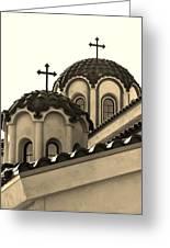 St Piasius Greeting Card