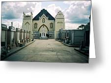 St Roch Campo Santo Greeting Card