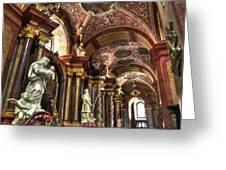 St Stanislaus Church - Posnan Poland Greeting Card