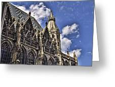 St Stephens Cathedral - Vienna Greeting Card