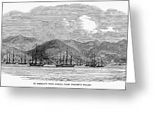 St. Thomas, 1844 Greeting Card