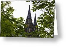 St Vitus Cathedral - Prague Greeting Card