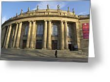 Staatstheater State Theater Stuttgart Germany Greeting Card