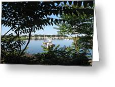 Stage Island Greeting Card