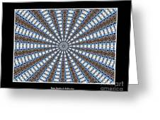 Stained Glass Kaleidoscope 32 Greeting Card