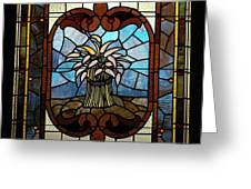 Stained Glass Lc 20 Greeting Card