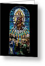 Stained Glass Pc 01 Greeting Card