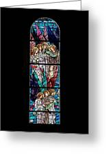 Stained Glass Pc 06 Greeting Card