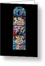 Stained Glass Pc 07 Greeting Card