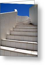 Stair To The Sky Greeting Card