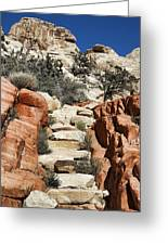 Staircase Stones Greeting Card