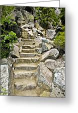 Staircase To Eagle Falls Lake Tahoe Greeting Card