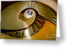 Stairs Stares Greeting Card