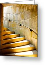 Stairs To Safety Greeting Card