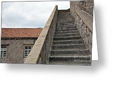 Stairway In Dubrovnik Greeting Card by Madeline Ellis