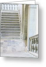 Stairway In Radovlica Greeting Card