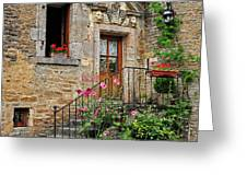 Stairway Provence France Greeting Card