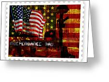 Stamp Your Freedom  Greeting Card