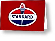 Standard Oil Sign Greeting Card