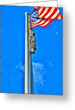 Standing Proud Soaring High Greeting Card